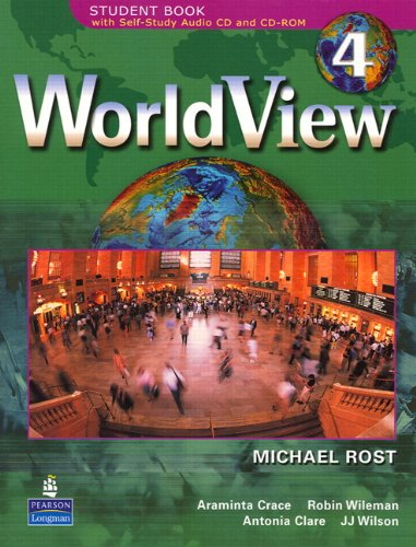 WorldView 4 with Self-Study Audio CD and CD-ROM Workbook (Worldview Workbooks) (Pt. 4)