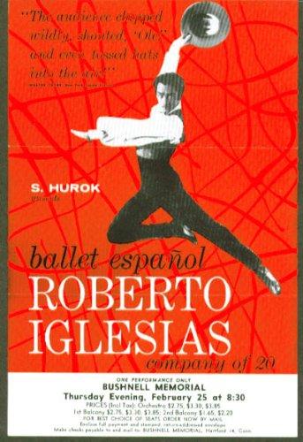 Roberto Iglesias Ballet Espanol Flyer Bushnell 1960