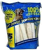Rawhide 15 Count Dental Rolls, 3.7lbs