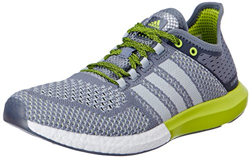 adidas Men's CC Cosmic Boost M Grey and Green Mesh Running Shoes - 7 UK  available at amazon for Rs.8399