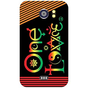 Via flowers Back Cover For Micromax A110 One Love Multi Color