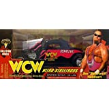"1998 Racing Champions WCW Starrcade Jim ""The Anvil"" Neidhart Nitro Streetrods 1/24 Scale Diecast Car"