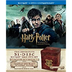 Harry Potter Wizard's Collection (Blu-ray / DVD Combo + UltraViolet Digital Copy)