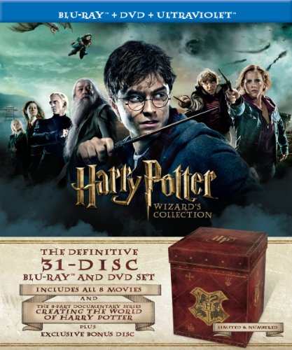 Harry Potter Wizard's Collection (Blu-ray / DVD)