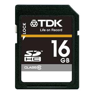 【クリックで詳細表示】TDK LoR SDHCカード 16GB Class10 (5年保証) [フラストレーションフリーパッケージ (FFP)] T-SDHC16GB10-FFP