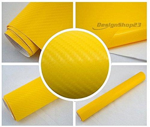 59eur-m-4d-carbon-folie-gelb-4d-30-x-152-cm-auto-folie-blasenfrei-selbstklebend-flexibel-lackschutz-