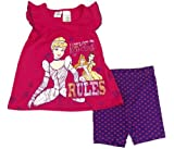 Disney Baby-girls Cinderella A Rules Shirt & Short Set