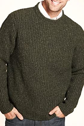 Blue Harbour Heritage Lambswool Blend Chunky Knit Jumper [T30-4017B-S]