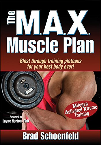 "I've mentioned Brad Schoenfeld before, and have recommended his book on ""The Science and Development of Muscle Hypertrophy"" as one of the best books out there on training.   Well ""The Max Muscle Plan"" is another excellent book by one of the best minds in fitness.  When a book on training has a foreword by Layne Norton PhD. You know that it is going to be of high quality. This book is designed to give you everything you need to transform your physique in just 6 months.   Now 6 months may sound like a long time when compared to the thousands of books offering 4 week, 6 week, or even 12 week transformations. But that's because Brad offers you a realistic and achievable goal .... rather than a ridiculous sales pitch.  If you're looking to follow a program that uses up-to-date scientific training principles to get you in the best shape of your life, then this is indeed the book for you!"