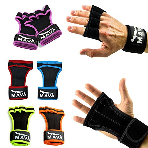 Mava Fitness Gloves: Mava ® Gloves For Powerlifting With Integrated Wrist