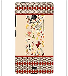 PrintDhaba Pattern D-4770 Back Case Cover for MICROSOFT LUMIA 540 (Multi-Coloured)