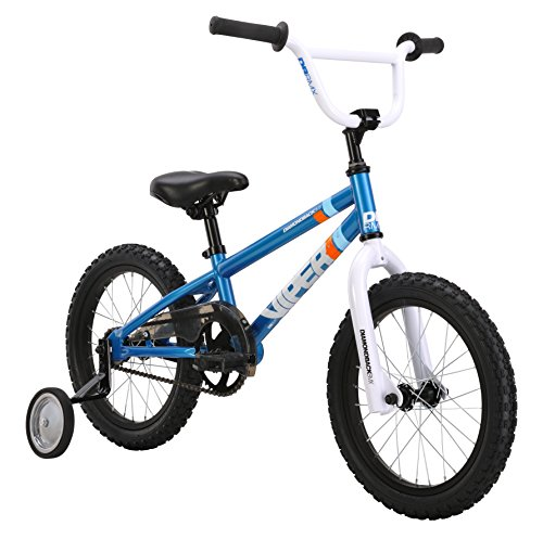 Diamondback Bicycles 2014 Mini Viper Kid's BMX Bike (16-Inch Wheels), One Size, Blue (Bicycle Bottom Bracket Tube compare prices)