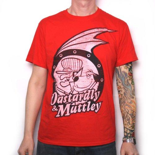 Old Skool Hooligans Men's Dastardley & Mutley T-Shirt