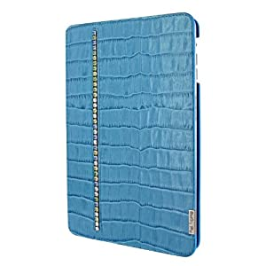 Piel Frama FramaSlim U653SWB Swarovski Case Blau für Apple iPad Mini/Apple iPad Mini Retina Display