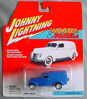 Johnny Lightning Custom Woodys & Panels '33 Willys Panel Van