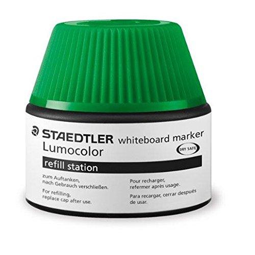 STAEDTLER Lumocolor Flacon de recharge 488 51, vert