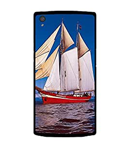 printtech Ship Water ocean Back Case Cover for OnePlus X