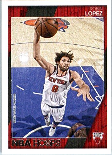 2016-17 Panini NBA Hoops #202 Robin Lopez Chicago Bulls Basketball Card in Protective Screwdown Display Case (Chicago Bulls Display Case compare prices)