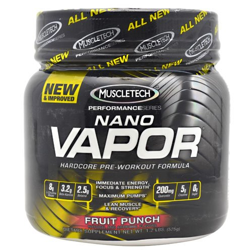 Muscletech Nano Vapor Performance Series Concentrate 525G ( Multi-Pack)