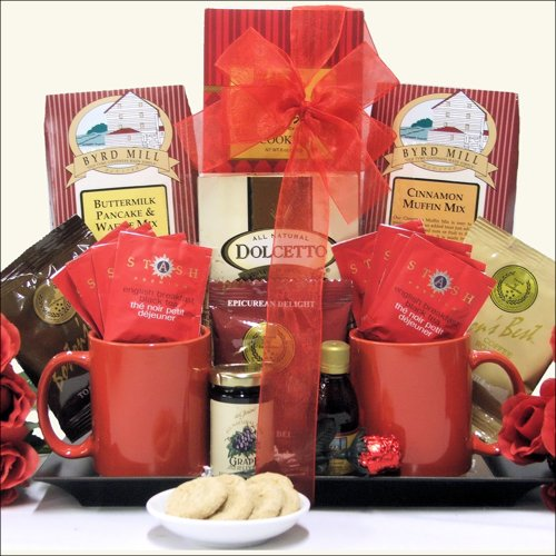 Greatarrivals Gift Baskets Anniversary Gift Basket, Breakfast For Two, 4 Pound