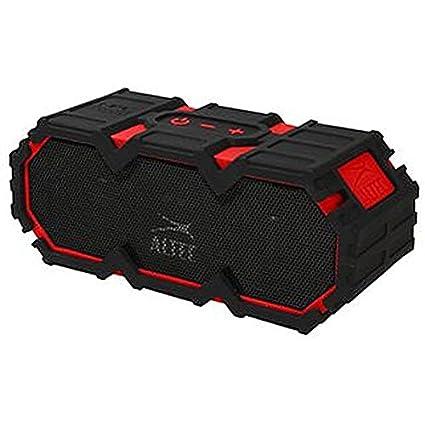 Haut-Parleur BLUETOOTH Gilet de sauvetage Rouge Audio-visuels haut-Parleur Enceinte BLUETOOTH, gilet fréquence porteuse de sauvetage Rouge Extérieur :  2,4 GHz, Profondeur :  83 mm, Longueur/hauteur externe :  83 mm, Largeur :  203 mm-Couleu