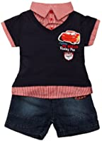 Disney Cars ME0091 Baby Boy's Top and Shorts Set