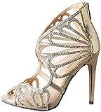 Carlton London Women's Laurene Gold Fashion Sandals - 5 UK (CLL-3161)