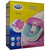 Scholl DRFB7132PUK1 Pedicure Foot Spa - Pink