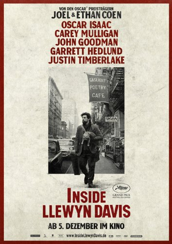 Inside Llewyn Davis (2013) 24X36 Movies Poster (THICK) - Oscar Isaac, Carey Mulligan, John Goodman
