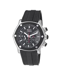 Ebel Men's 9137L83/5335606 1911 Tekton Black Rubber Strap Automatic Watch