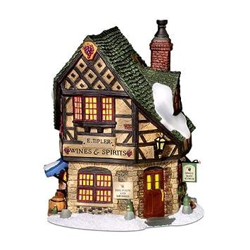 #!Cheap Department 56 Dickens Village E Tipler Agent Wine Spirits