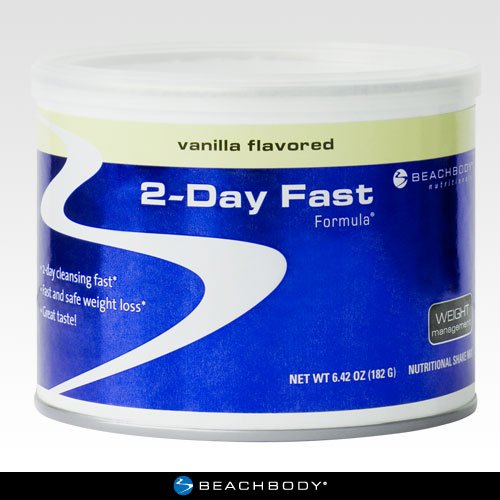 2-Day Fast Formula: Drop Up to 7 Pounds in 2 Days, Vanilla Flavor