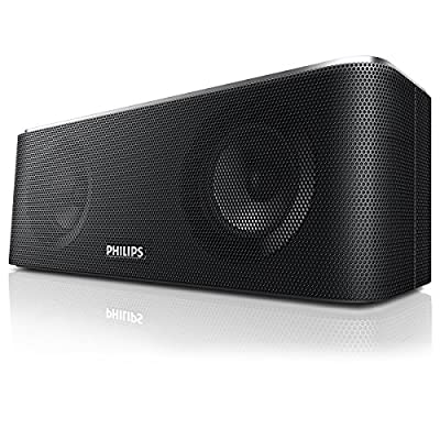Philips SB365B/37 Wireless Bluetooth Portable Speaker with Rechargeable Battery