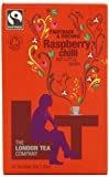 The London Tea Company Eco Organic and Fairtrade Raspberry and Chilli Tea Pot Bags 20 x 30 g (Pack of 4)