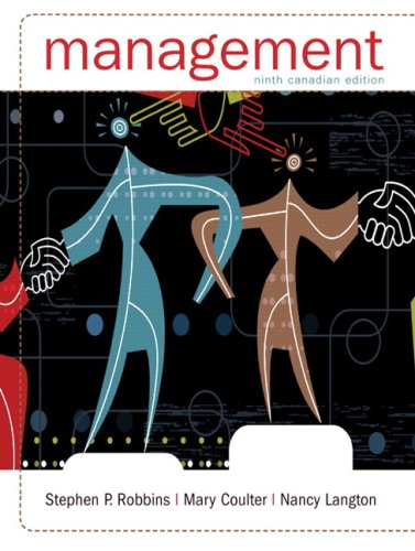 Management, Ninth Canadian Edition (9th Edition)