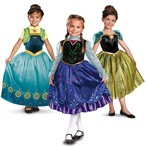 Frozen Fever Anna Deluxe Toddler Costume Kit - 3T-4T