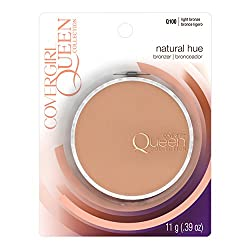 CoverGirl Queen Collection Natural Hue Minerals Bronzer, Light Bronze Q100 0.39 oz (11 g)