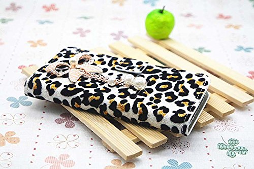 white Luxury Diamond Crystal Perfume PU Leather Wallet Card Holder Flip Case Cover For Samsung GALAXY S BLAZE 4G T769