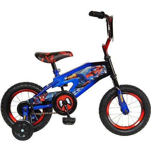 Spiderman 12-Inch Kid's Bicycle Cycling, Bike, Bicycle, Cycle, Bicycling