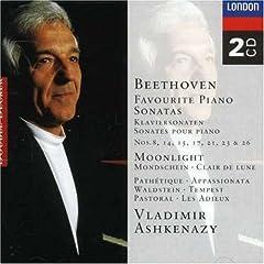 Beethoven: Favourite Piano Sonatas / Vladimir Ashkenazy