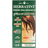 Herbatint 5R Light Copper Chestnut Permanent Herbal Hair Colour Gel 135ml