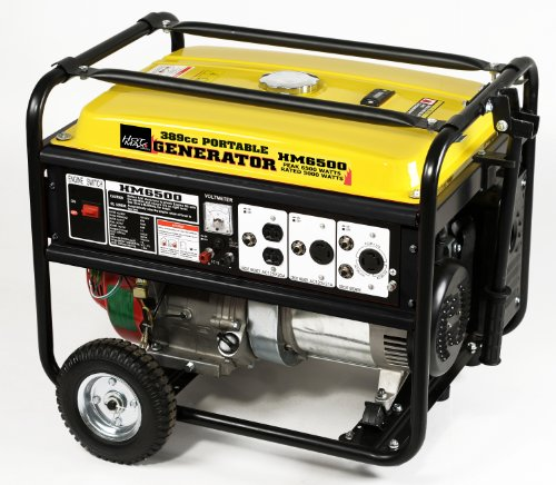 Hot Max HM6500 Rated 5500-Watt 6500 Watt Portable Generator