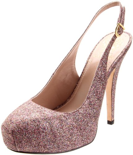 Vince Camuto Women's Kimmy Pump,Rainbow/New Gold,6.5 M US