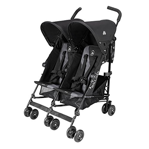 Maclaren Twin Triumph, Black/Charcoal - 1