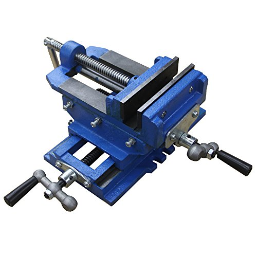 Hardware Factory Store 2 Way 4-Inch Drill Press X-Y Compound Vise Cross Slide Mill (Drill Press Cross Slide Vise compare prices)
