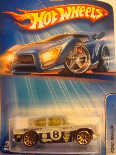 Hot Wheels Ford Anglia, Primer Gray, 1/64, 2006, #179, - 1