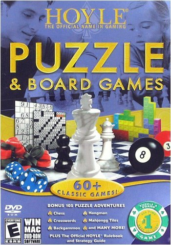 HOYLE PUZZLE AND BOARD GAMES - 1