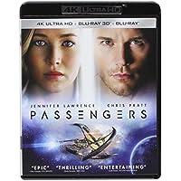 Passengers 4K Ultra HD 3D on Blu-ray