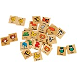 Small World Toys Ryan's Room Wooden Toys -Matchimals (Matching Game)