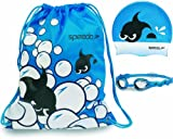 Speedo Boy's Sea Squad Pool Pack Swimming Equipment Pack - Blue, One size